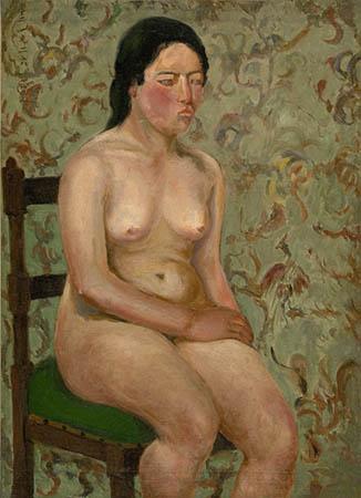 【文章】裸女畫作的背景裝飾
