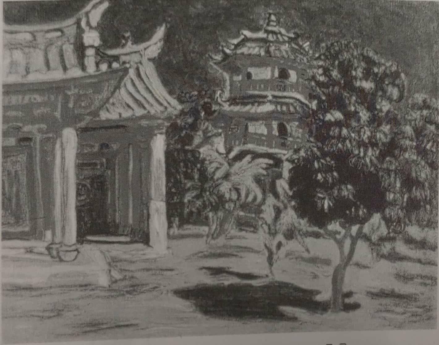 【名單之後】獨鍾臺南風景的日本畫家──御園生暢哉