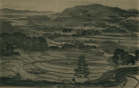【名單之後】林玉山──1933年的《夕照》風景