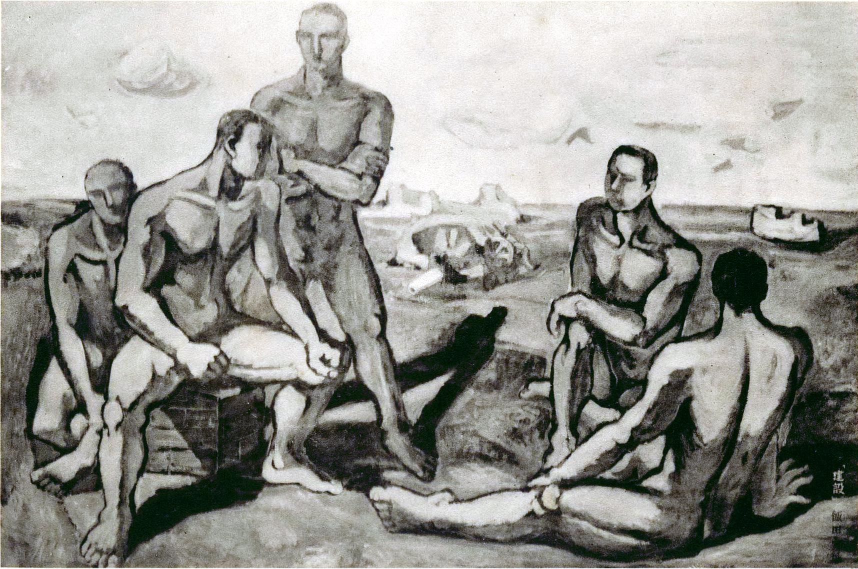 【名單之後】戰爭.繪畫.理念──飯田實雄與「聖戰美術」