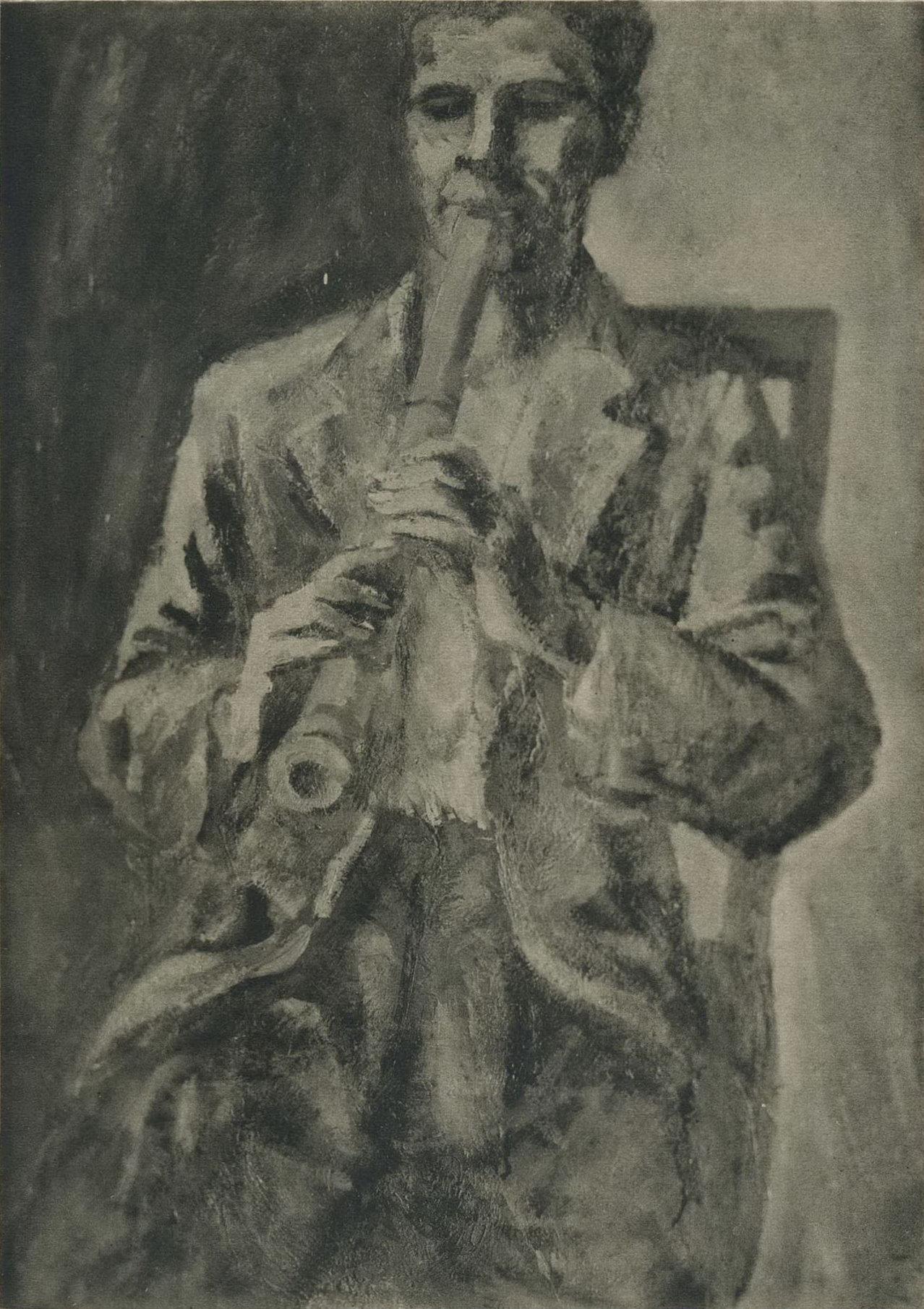 【名單之後】日治時期嘉義洋畫家矢澤一義的活動紀錄與他的府展作品