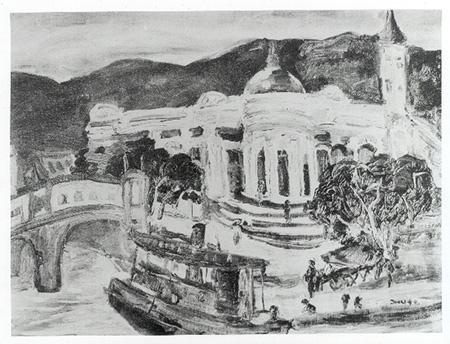 【名單之後】曾經的臺灣藝壇常勝軍「蘇秋東」與他筆下的基隆風景