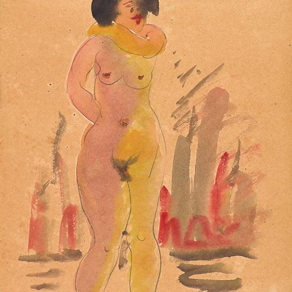 立姿裸女(87)