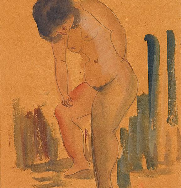 立姿裸女(88)