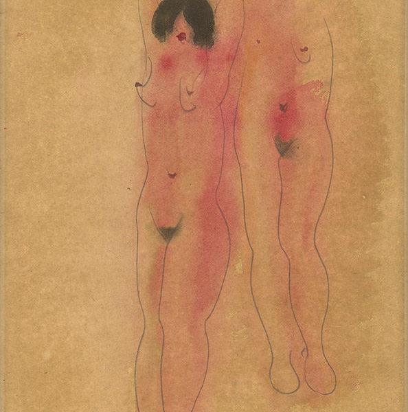 立姿裸女(89)