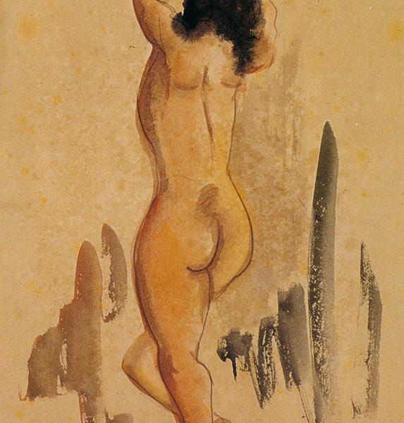 立姿裸女(90)