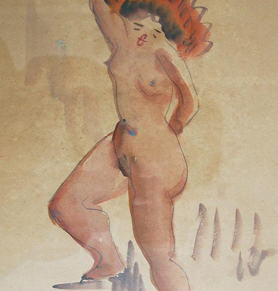立姿裸女(91)